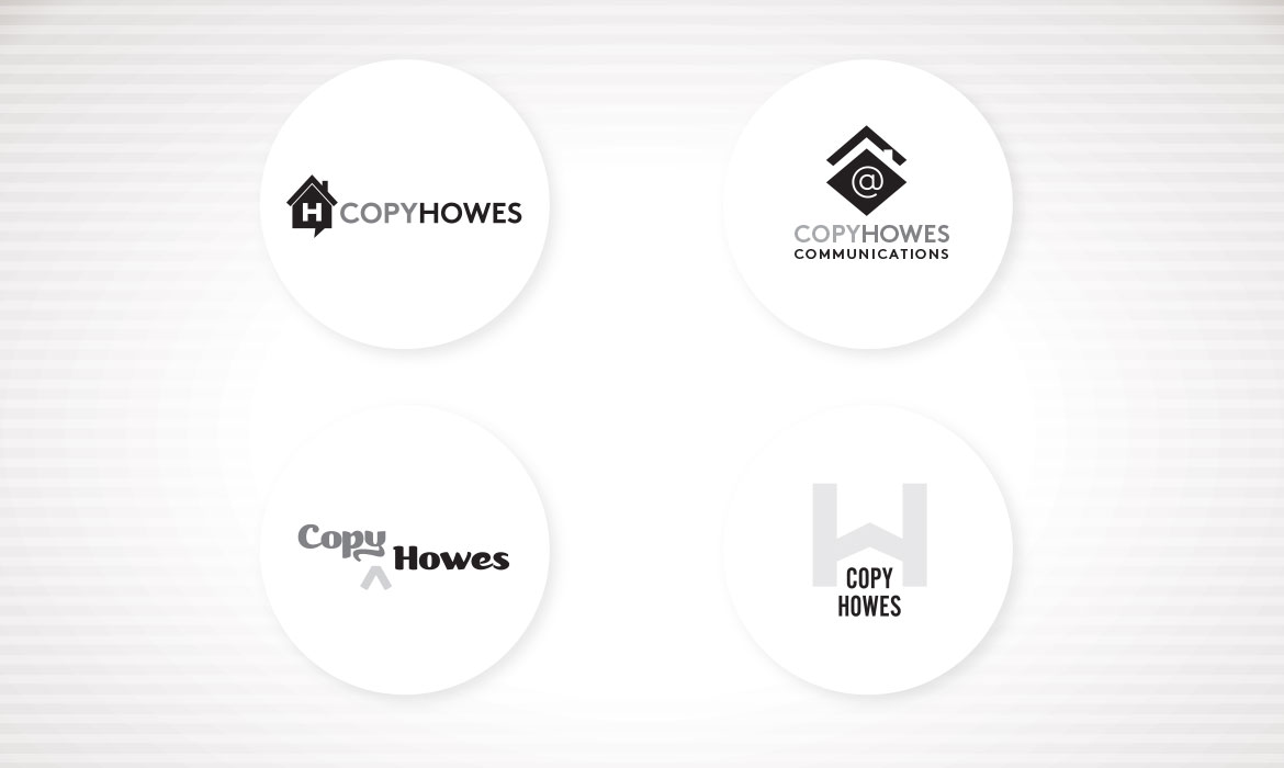 Copy Howes - Logo variations