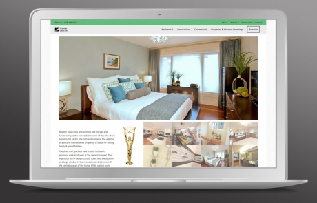 Habitat Interiors - Website