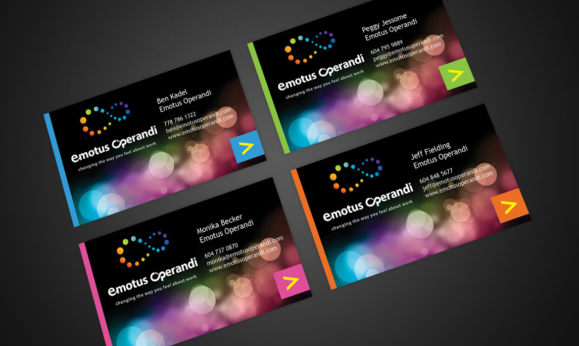 Emotus Operandi - Business cards