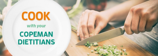 Copeman Healthcare - cook with your dietitian email header