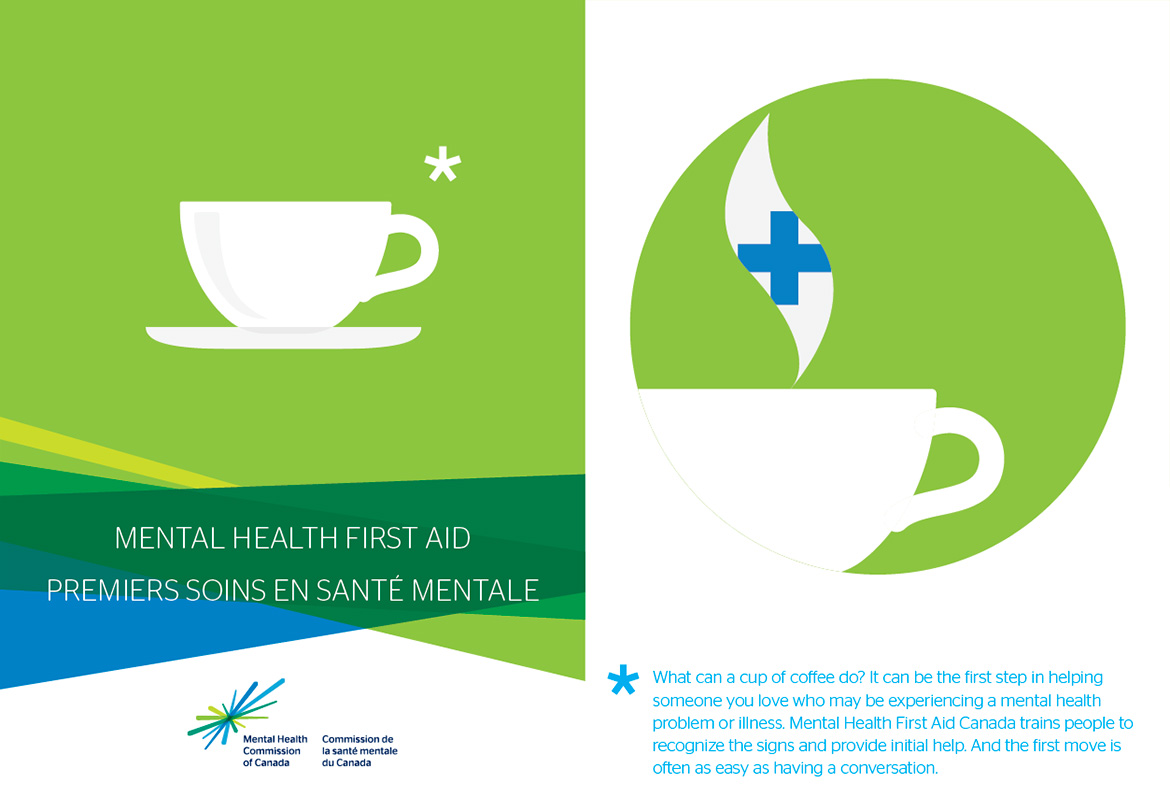 Mental Health Commission - MHFA brochure